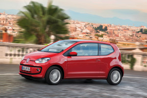 Rode Volkswagen Up leasen Joure